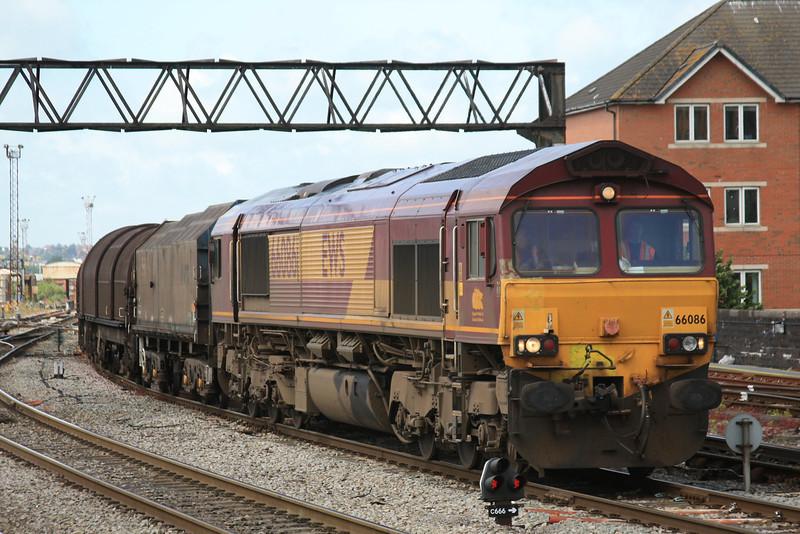 66086 6B03 Trostre - Llanwern through Cardiff Central 20.05.11