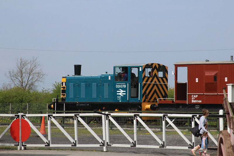 03079 BR 0-6-0 Diesel Mechanical Shunter @ DVLR 21.04.14