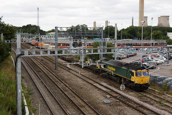 66567 4O57 Cardiff Wentloog - Southampton MCT 14.07.17