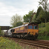 66158 6C39 Burngullow - Newport ADJ up through Dinnaton 17.05.12