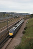 395020 glides past Dollands Moor 12.10.11