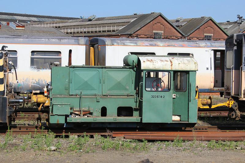 German Shunter 323 674-2