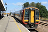 158812 arrives from Norwich at Platform 3b heading for Liverpool Lime Street 05.09.12