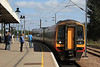 158780 arrives from Liverpool Lime Street to change direction and head off to Norwich 05.09.12