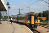 158863 arrives from Liverpool Lime Street to change direction and head off to Norwich 05.09.12