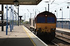 66039 have come off its consist now heads down through Platform 2 to run around its train 05.09.12