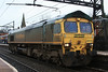 Now in the station 66514 heads off light loco 17.02.12