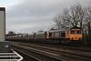 66702 6C09 Immingham - Eggborough P.S loaded coal 16.02.12