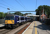 360115 + 360109 depart for Clacton from Platform 2 03.09.12