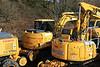 Quattro Plant Komatsu PW160 Megarailer 10 No:428 UIC 99709 940377-3 01.02.11