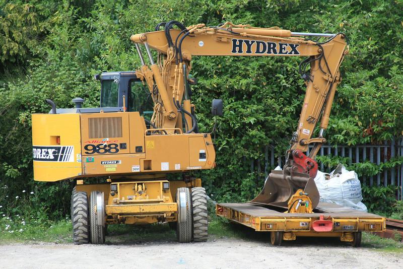 Hydrex Plant Case 988P Superailer No:3691 UIC 99709 940220-5 04.06.11