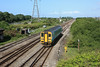 153323 passes with a train to Swansea 20.05.11