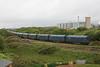 66069 6Z12 Dollands Moor - Trostre loaded IHAs arriving @ Trostre Steel Works 21.05.11