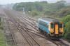 153367 heading for Cardiff Central @ Llandeilo Junction 17.05.11