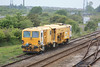 DR73935 - Plasser & Theurer 08-4x4/4S-RT Switch & Crossing Tamper stabled in the siding 21.05.11