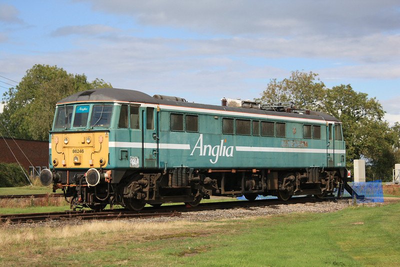 Class 86/2 86246 @ Long Marston 17.09.11
