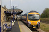 185102 departs Malton with 1E81 Liverpool Lime Street - Scarborough service 20.04.14