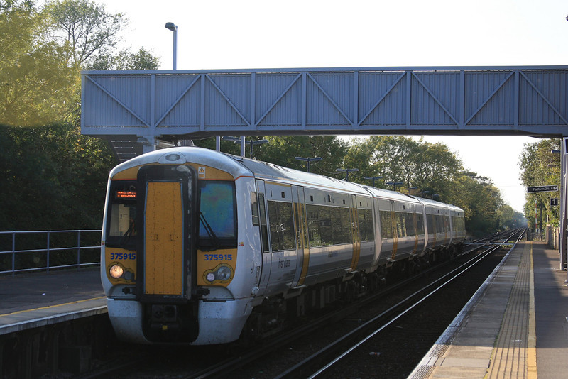 375915 arrives to terminate 16.10.11