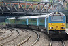 67001 makes it way up Platform 2 working a 5Zxx Cardiff Canton - Cardiff Canton turning move 27.09.13