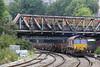 66099 6H27 Margam - Llanwern loaded BAAs approaching Newport 27.09.13