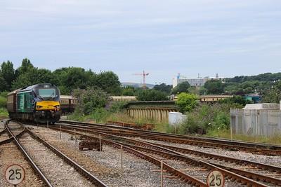 68017 TnT 68008 1Z58 Swansea - Par Posh Nosh through Plymouth TL 30.06.16