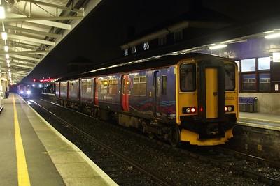 150233 shutdown on Platform 7 05.02.16
