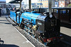 """GN outline two-cylinder 4-6-2 Pacific locomotive """"Hurricane"""" gets her water topped up 15.10.11"""