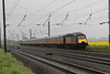 43480 & 43465 1N93 London Kings Cross - Sunderland races through Shipton 25.04.14