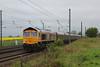 66716 6xxx North Blyth - West Burton or Ferrybridge? rattling down through Shipton 25.04.14