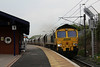66539 6C14 North Blyth - West Burton P.S rumbles through Thirsk 23.04.14