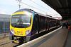 185108 1P34 Manchester Airport - Middleborough arrives at Platform 24.04.14