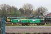 66604 shutdown outside York Freightliner Wagon Works 22.04.14
