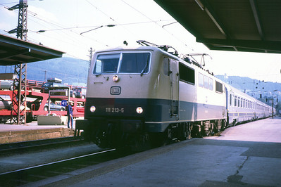 DB 111-213-5 at Innsbruck