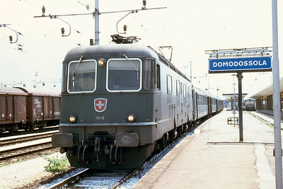 Brig - Domodossola move. Seem to recall warp speed achieved very quickly!