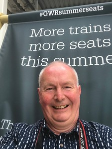 #GWRsummerseats at St Erth. Don't do this alone. I nearly couldn't get out of the massive deckchair myself....!