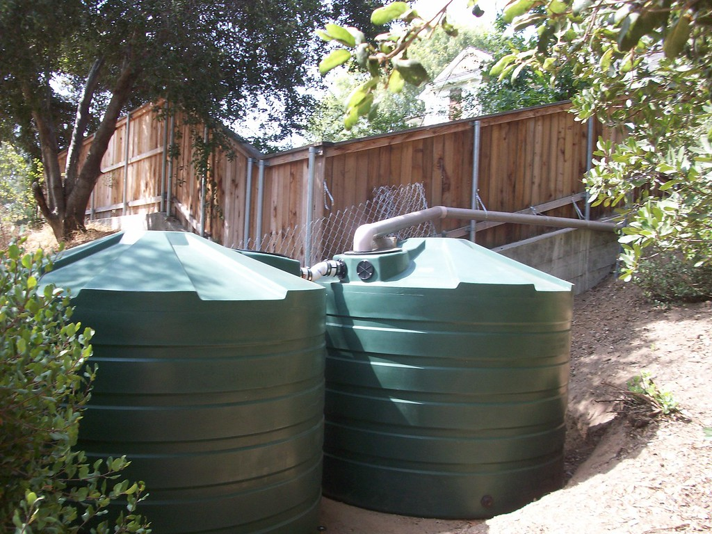 "This 2X1320 gallon tank system was fed by a culvert that collected the water from a large driveway.<br /> FUNFACT-One mile of two lane road collects some 87,000 gallons of water in one inch of rain.<br /> <br />  <a href=""http://www.rain-watersystems.com/"">http://www.rain-watersystems.com/</a>"