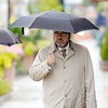 BEN GARVER — THE BERKSHIRE EAGLE<br /> With rain forecast for the entire day, there is no escaping the rain in Pittsfield.