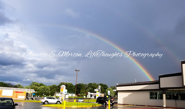 Rainbow Over Big Lots