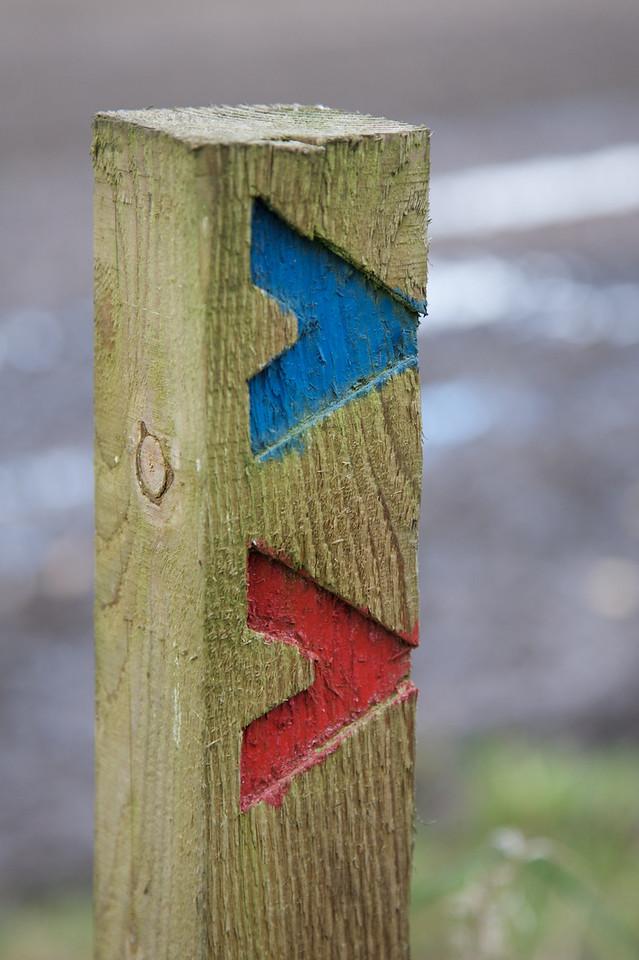 Fir Tree Farm Way Marker