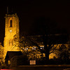Rainford Church by night