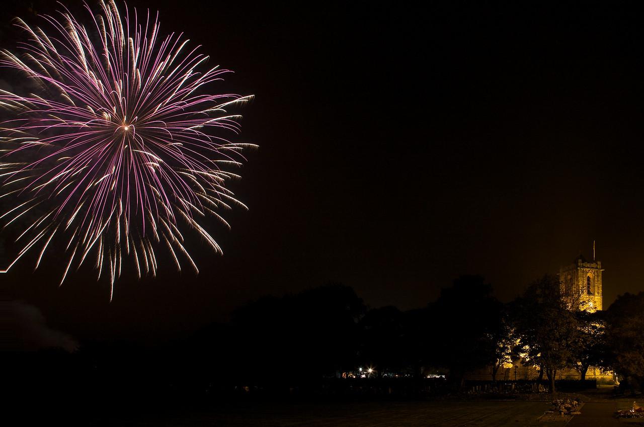 Rainford Fireworks 2008