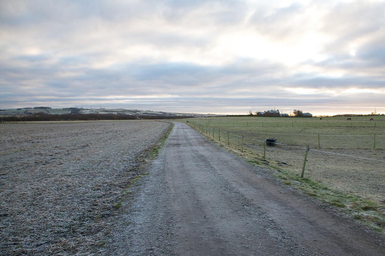 Long Track at Whitehouse Farm