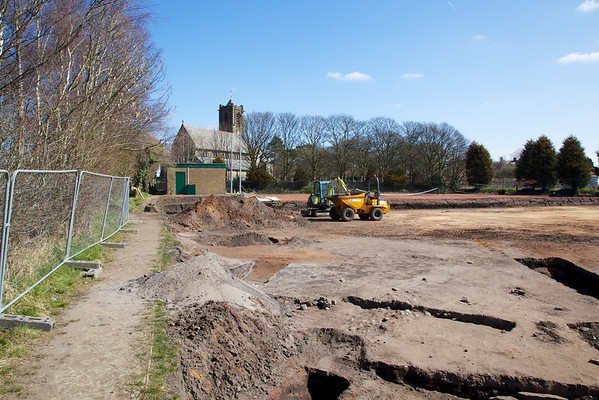 Construction of new tennis courts
