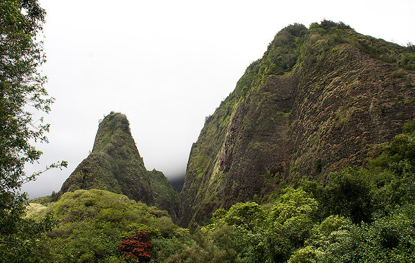"""The Needle"", 'Iao Valley, windward Maui."