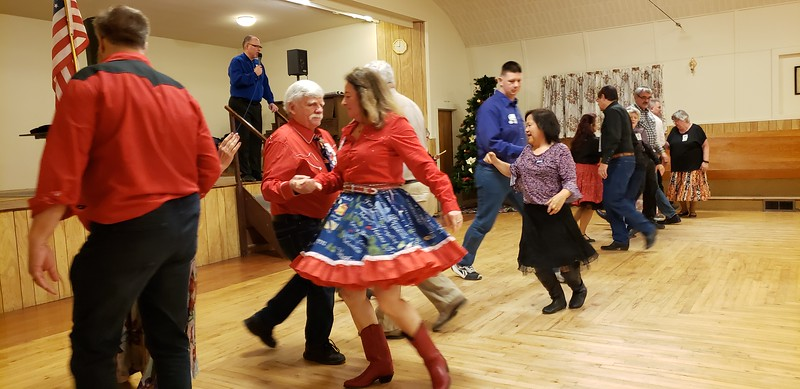 Jan. 11, 2020; square dancing is fun!