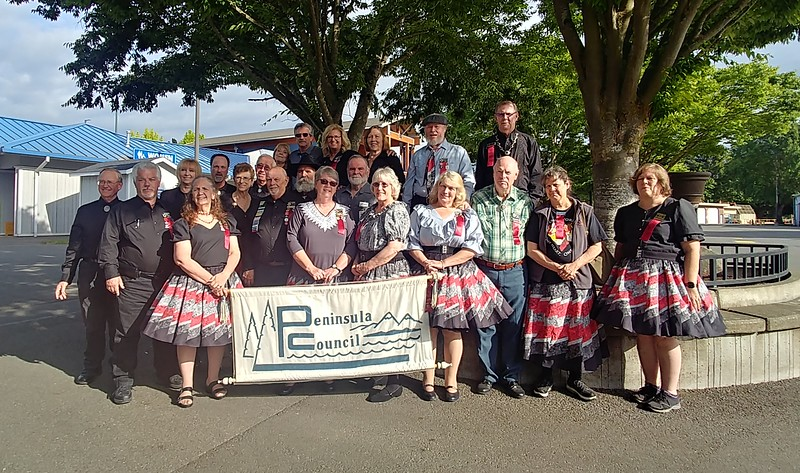 Peninsula Council attendees at the Rainier Rendezvous