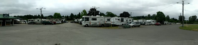 RV Camping at the Rainier Rendezvous