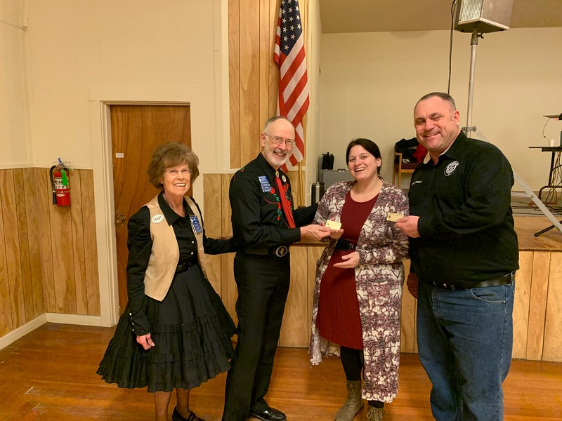 Rainier Council President's Award Winners for 2019