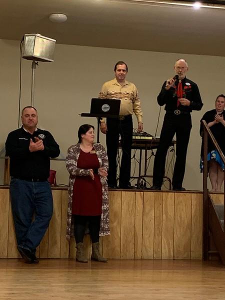 Rainier Council President's Award for 2019.