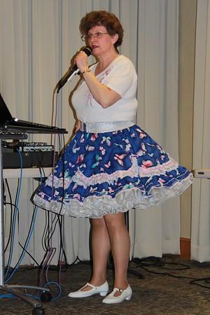 Sue Weber, cueing Lollapalooza 2017